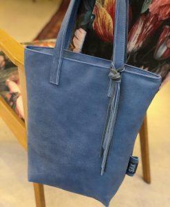 Lola, shopper, leren tas, handgemaakte tas, leer, utrecht, schoudertas