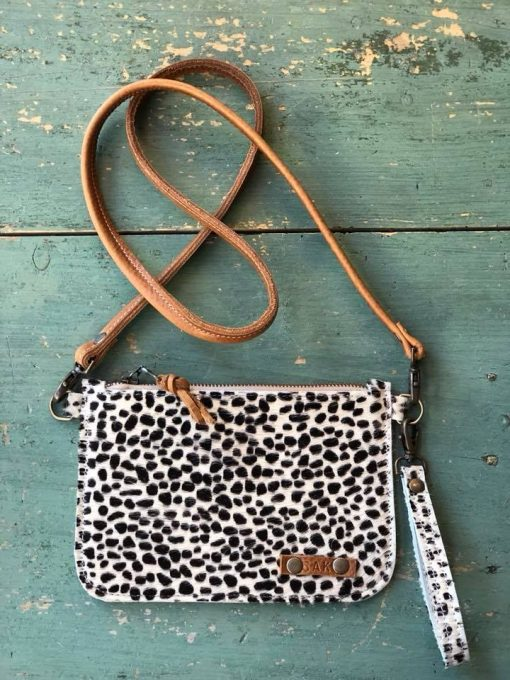 cross body, clutch , panter, tijger , festival bag, bruin, zwart ,sak